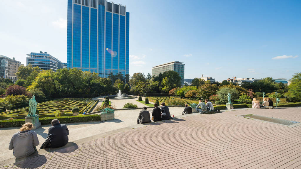 Urban Court - Ingang van de Kruidtuin