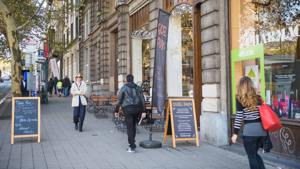 Urban Court - Kruidtuinlaan Winkels Uitzicht