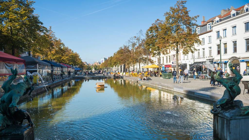 Urban Court - Sint-Katelijne plaats waterplan